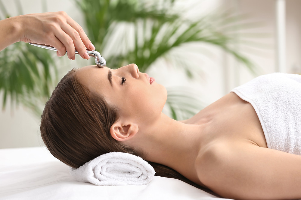 Facial - spa treatment