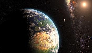 Erde und Weltraum