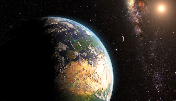 地球と宇宙