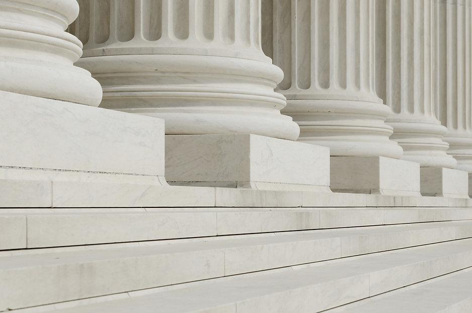 Filas de columnas clásicas