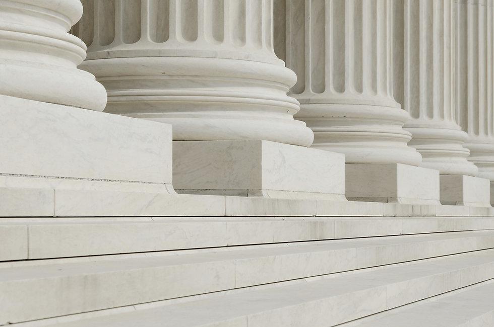Rangées de colonnes classiques