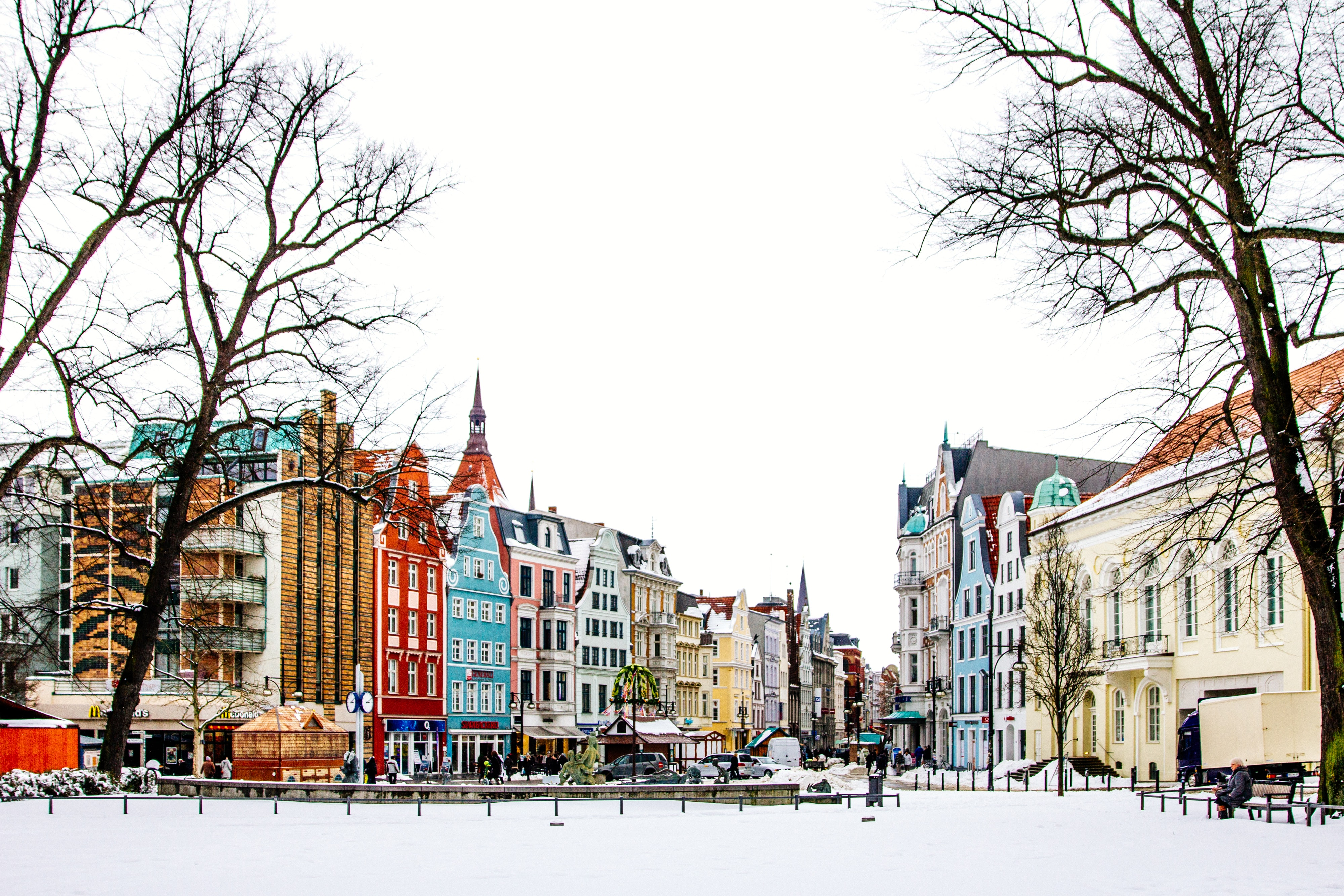Winter in Rostock