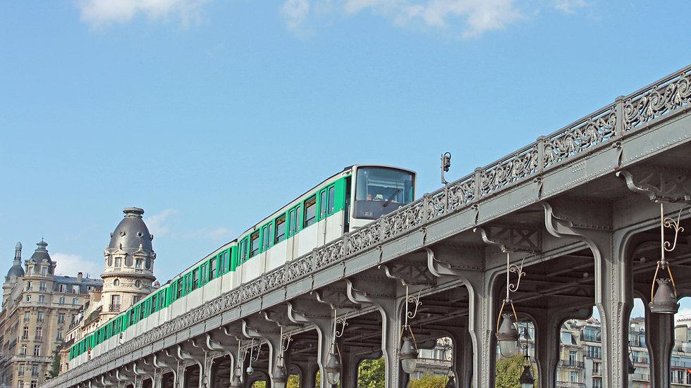Train on a Bridge
