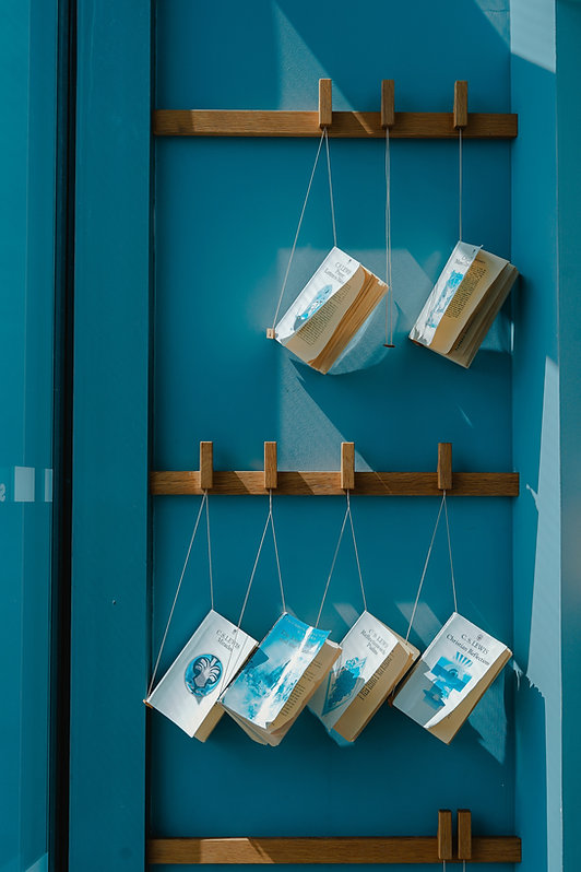 Hanging Books