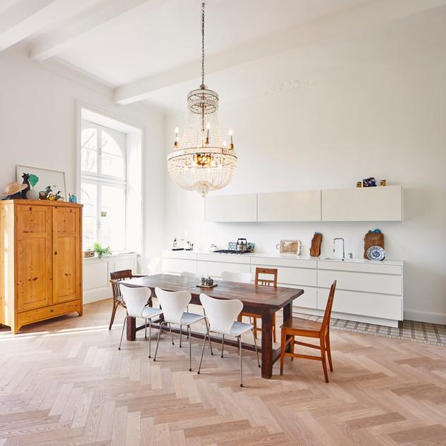 Ristrutturazione appartamento zona cucina