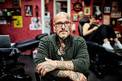 Tattoo Artist Portrait