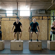 Group crossfit class at the best gym in altus, ok