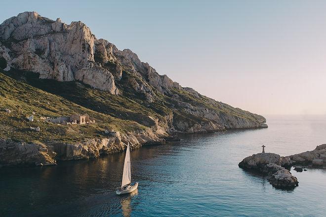 Balade en bateau sur la côte