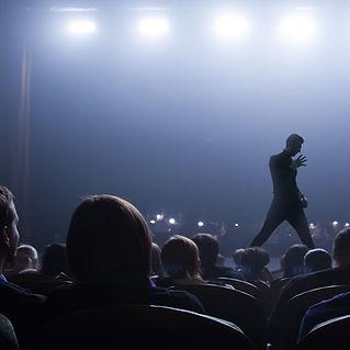 Interprète sur scène