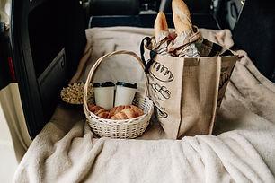 Piknik i bilen