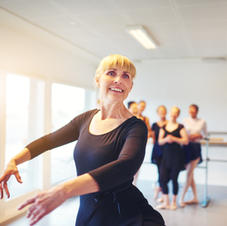 Online Ballet Exercises for Ages 50+