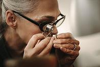 Inspection des bijoux
