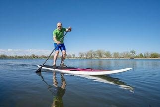 Paddling on a Lake