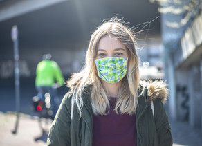 Wearing a face covering in shops in England will become mandatory from tomorrow, 24 July 2020