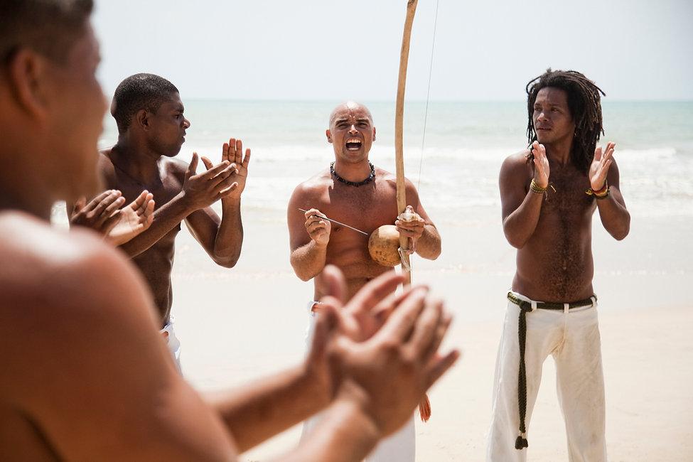 Capoeira na praia