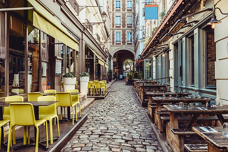 Cute Street Cafes