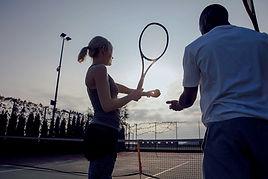Cours/leçon de tennis au tennis club de Gembloux