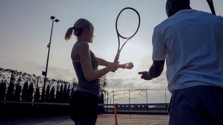Reservieren der Tennisplätze