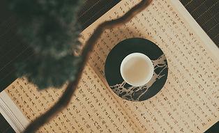 ティーカップとソーサー