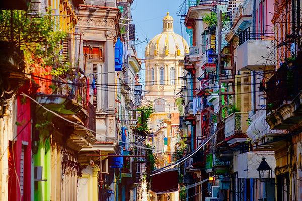 Calle en la Habana Vieja