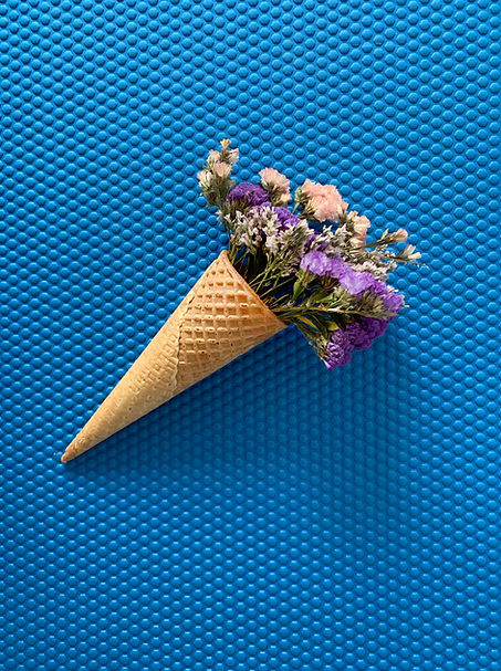 Flowers in Cone
