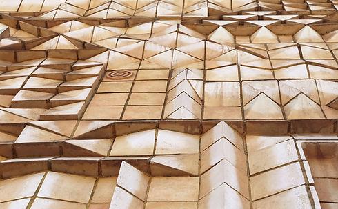 Декоративная бетонная конструкция