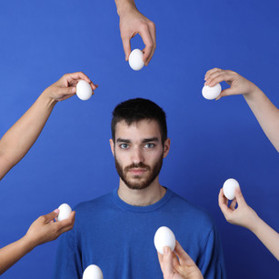 Surrounded by Eggs