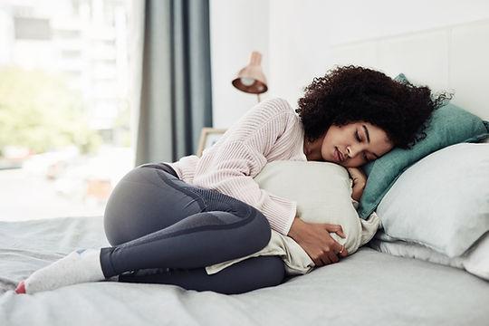 Hugging a Pillow