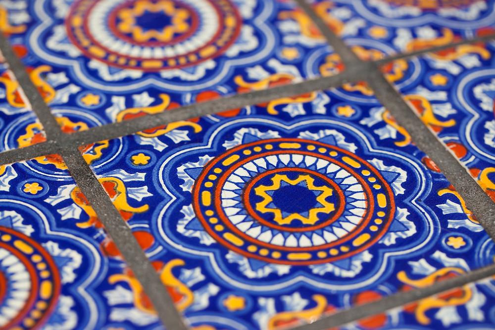 floor tile, biophilia, biophilic design