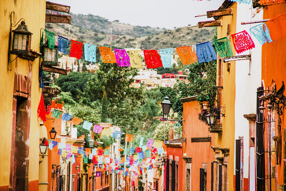 Mexican Street Decoration