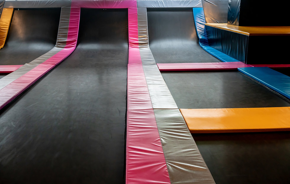 Trampoline Runway