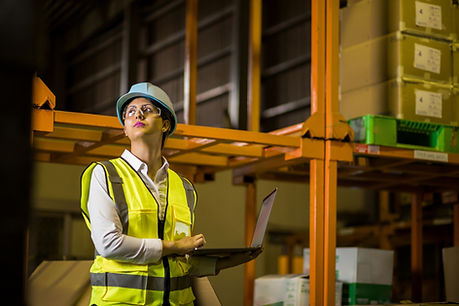 Trabalhadora da construção