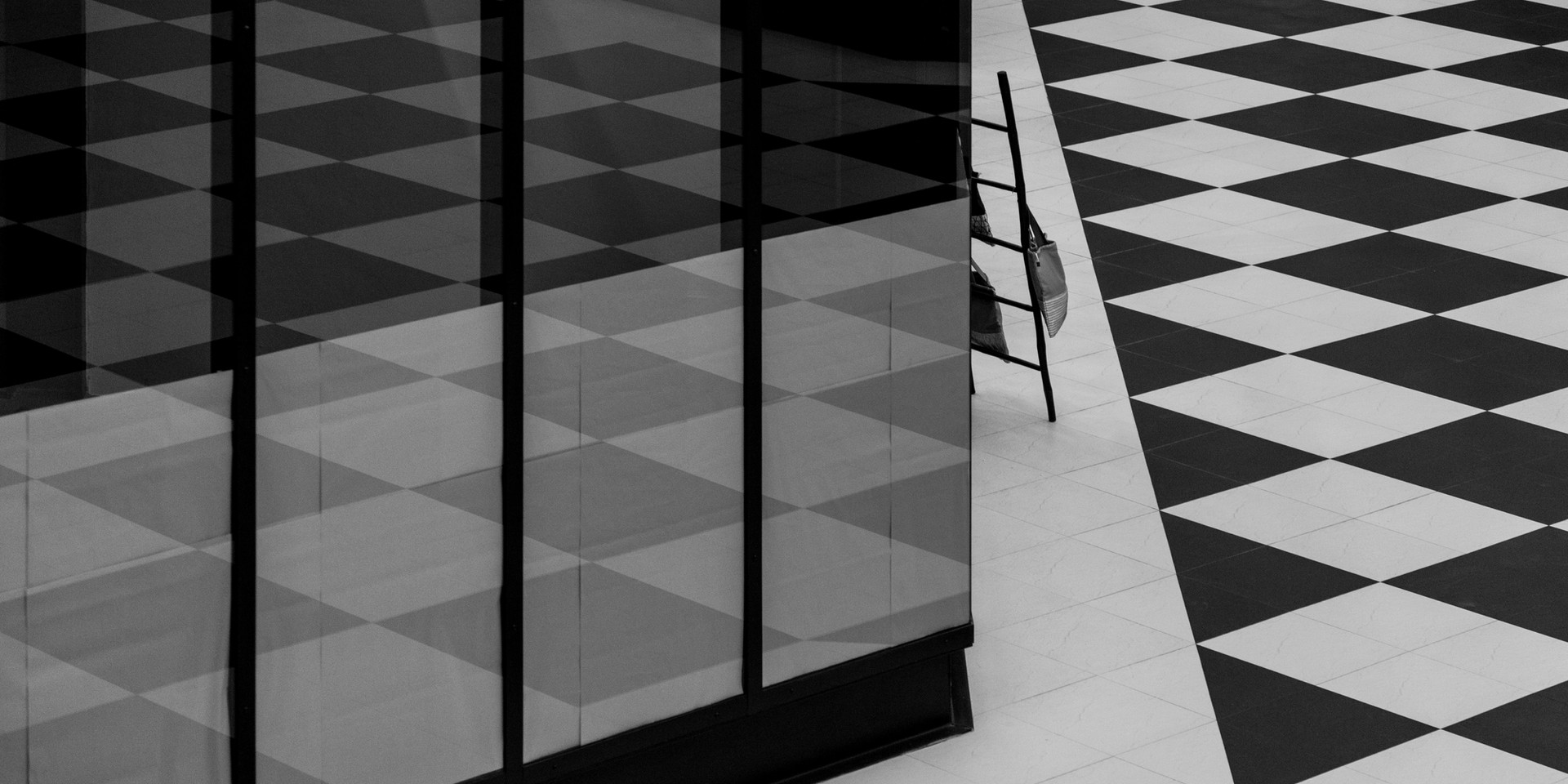 Black and White Tiles
