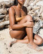 Tanned Model