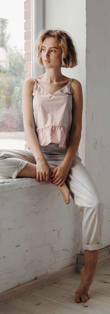 Loungewear Fashion Model