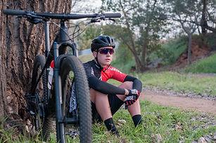Cyclist on Break
