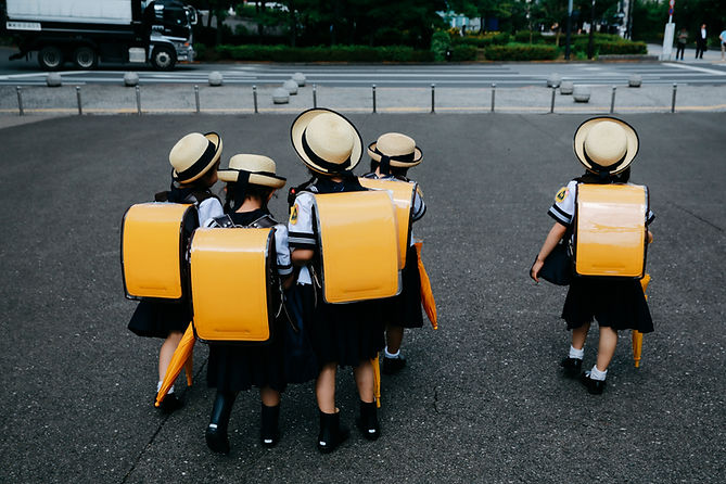 Young School Students
