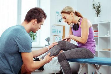 Fysioterapeut undersökning