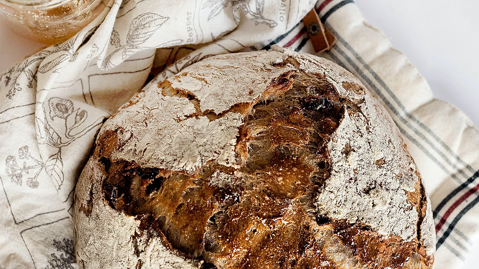 Multiseed wholewheat rye sourdough