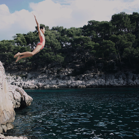 Blog #0 Working out loud – oder auch der Sprung ins kalte Wasser.