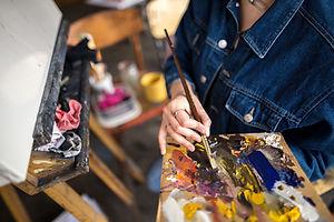 Palette de peintres