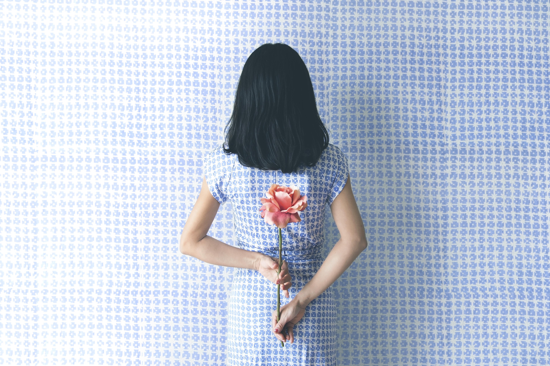 壁紙ドレスパターン