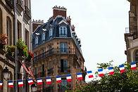 Französische Flagge Banner