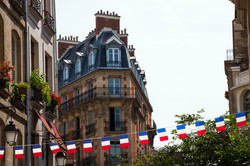 French Flag Banner