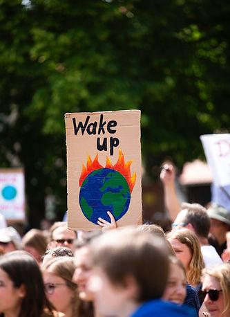 Protesta degli attivisti ambientali