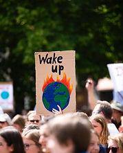 Protesta de activistas ambientales