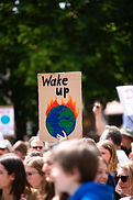Umweltaktivisten protestieren