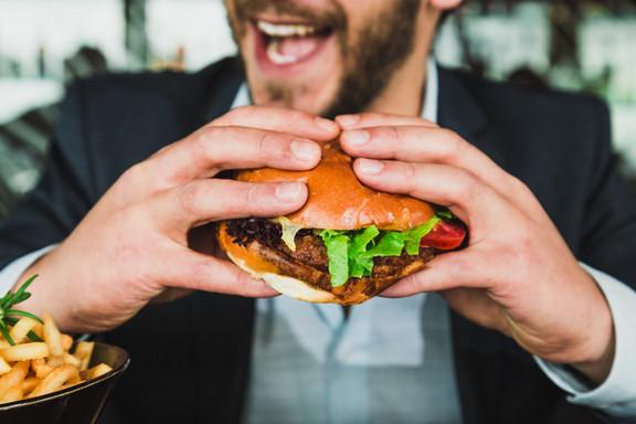 Burger hautnah