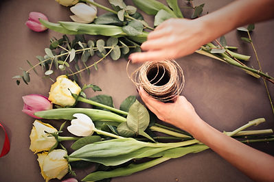 Personalized Flower Arrangement