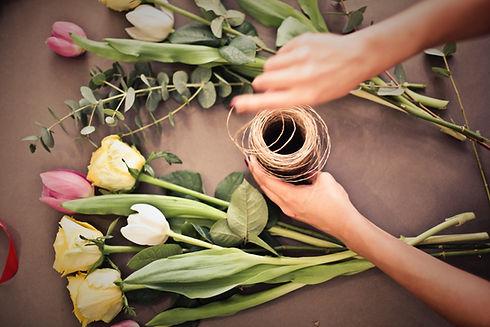 Arrangement de fleurs personnalisé